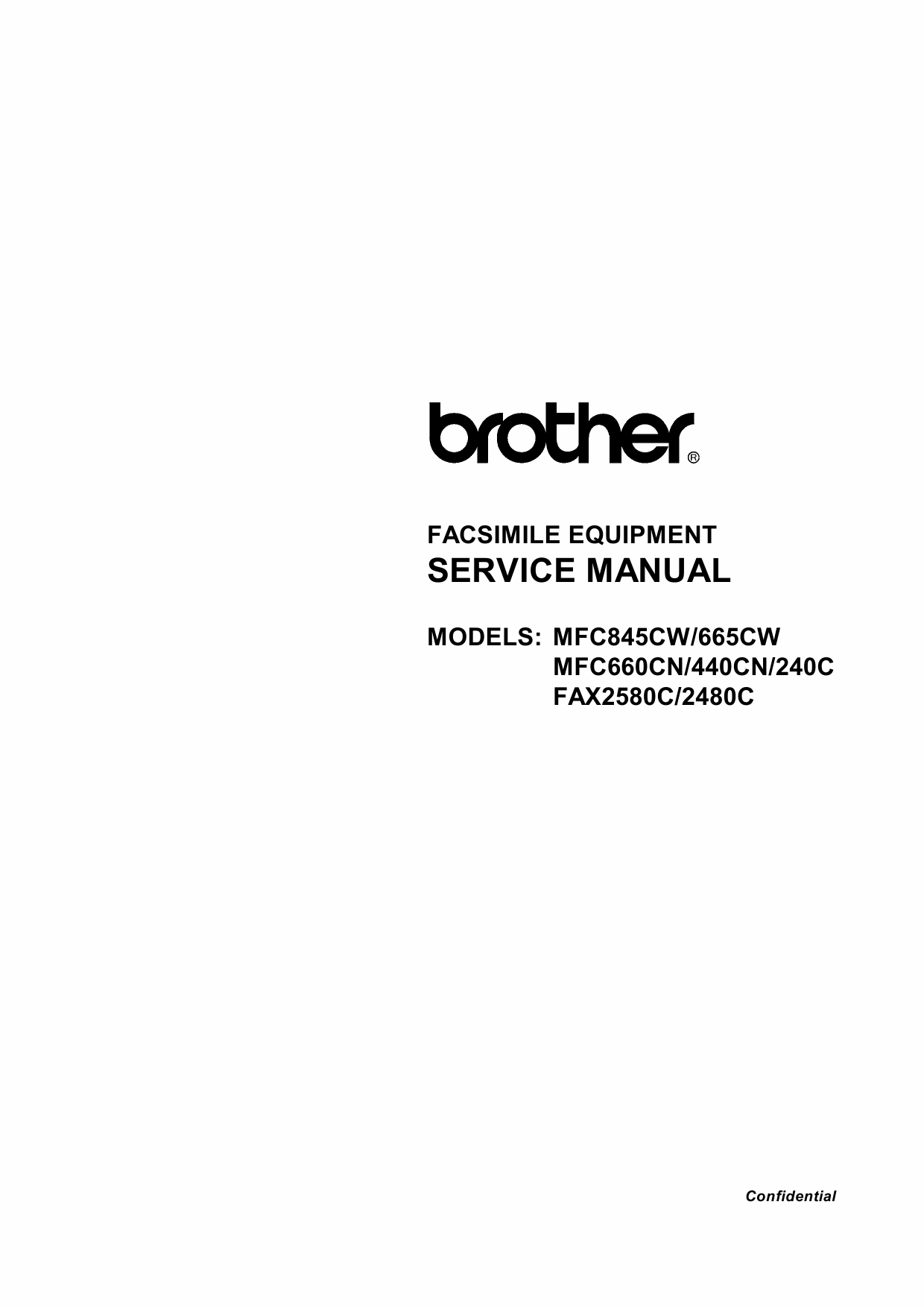 Brother ka-240 user manual.